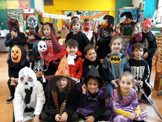 Halloween à l'école!