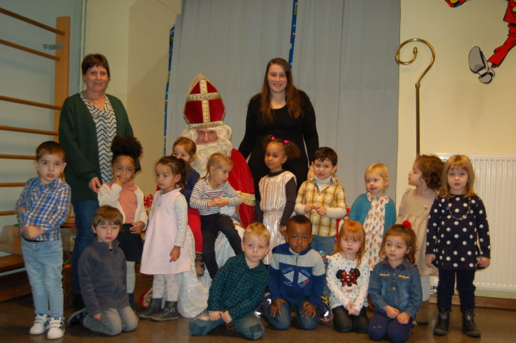 5 décembre : St Nicolas est venu dans notre école