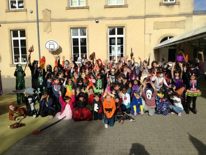Vendredi 25 octobre : c'est Halloween dans notre école