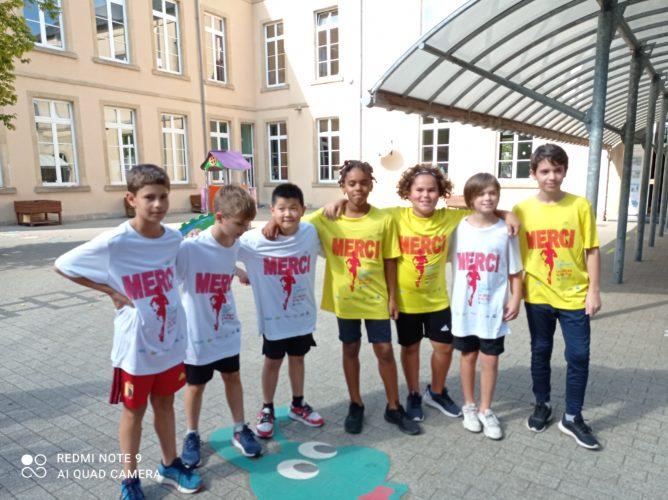 Notre école participe aux 1000 km du Fair-Play