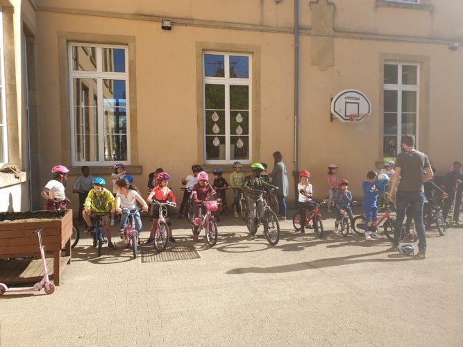 P1-P2 : activité vélo